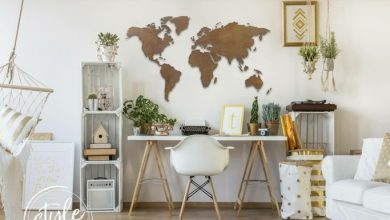 Photo of The elegant wall design with learning effect – world map wall!