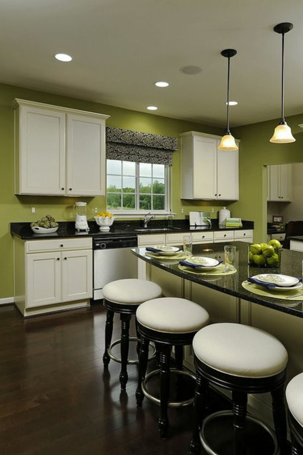 wall cabinets kitchen white design green wall design