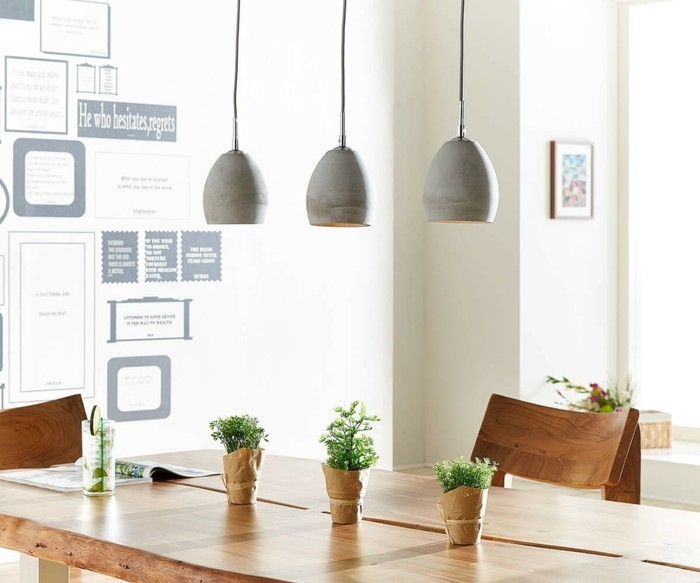 lamps made of concrete hanging lamps
