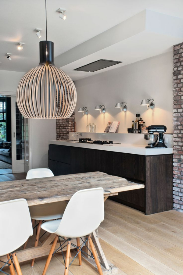 modern kitchen great candlestick