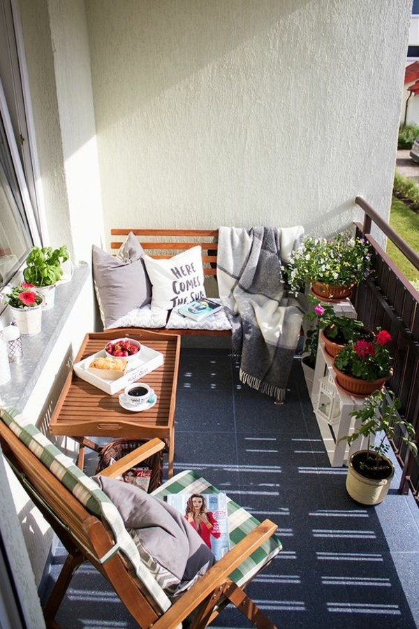balcony furniture for bran balcony small terrace shape