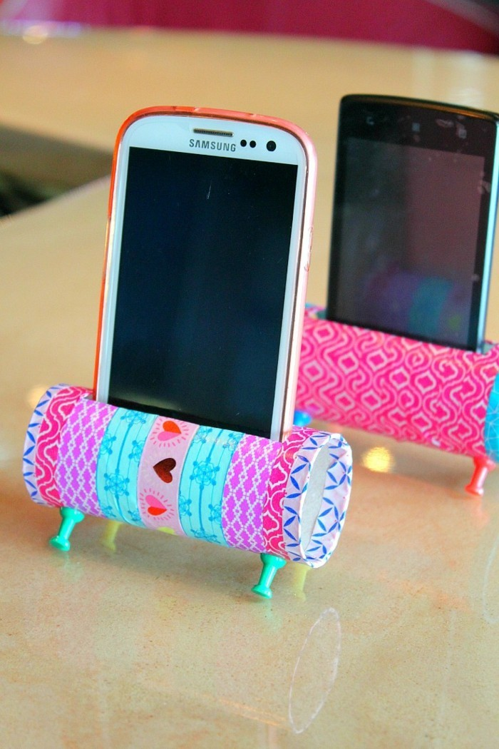 DIY Ideas Decorating Ideas Tinker with Children's Mobile Phone Station