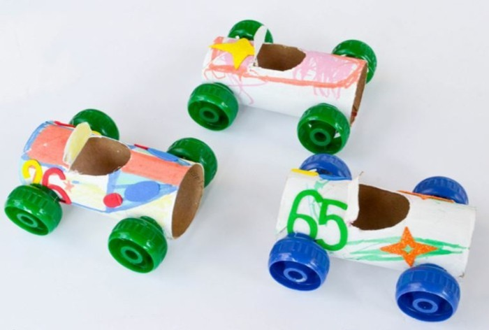 tinkering with paper towels diy ideas decorating ideas with kids cars