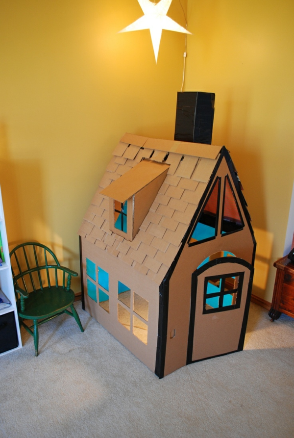 nursery decoration playhouse cardboard