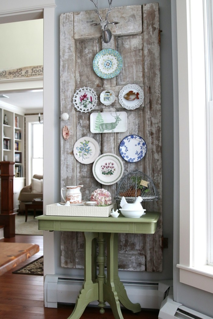 walls decorate vintage wall deco plate