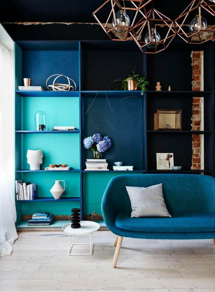 Residential Colors Wall Colors Trends Interior Design Color Gentle Blue Sofa Oval Edge Furniture