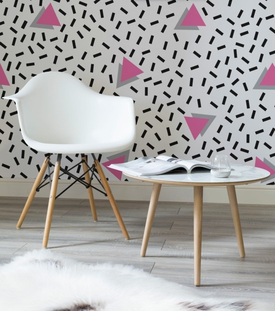 wall decoration ideas colored wall decoration party pattern