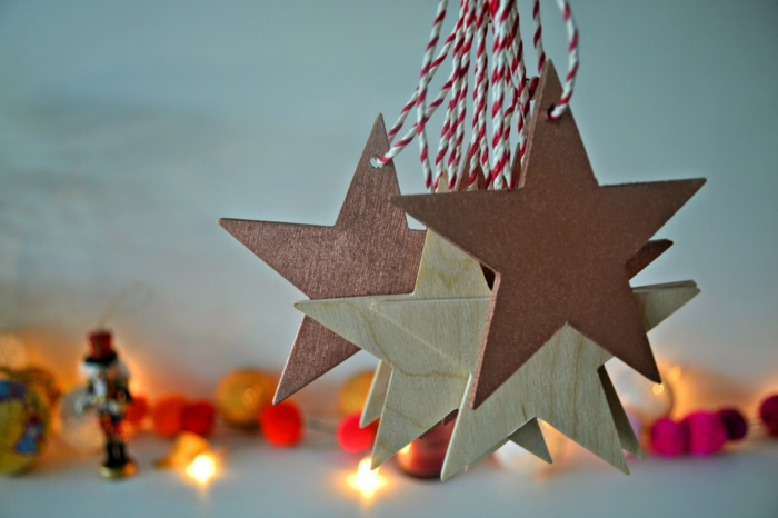 christmas crafting tree trailer star deco ideas christmas