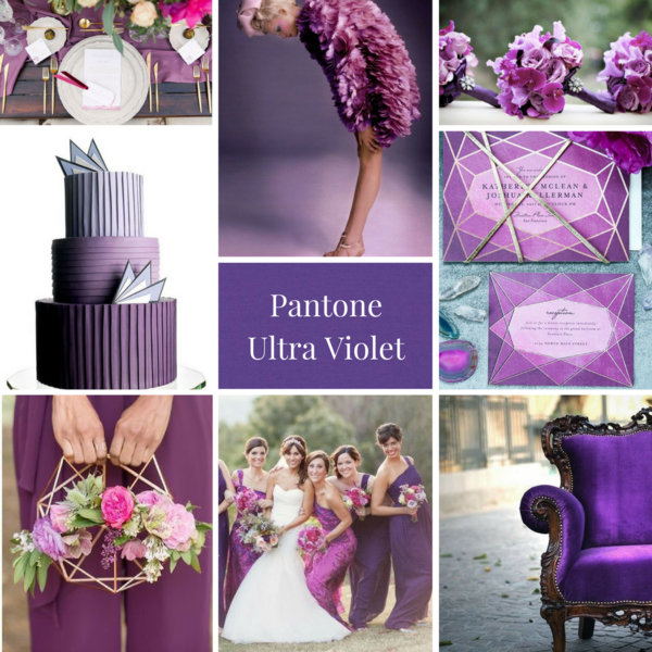 pantone colors wedding trends 2018