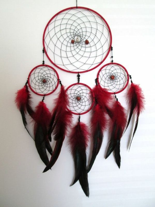 dreamcatcher make yourself burgundy black