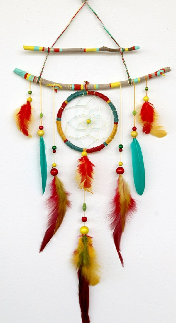 dream catcher make your own colorful wood