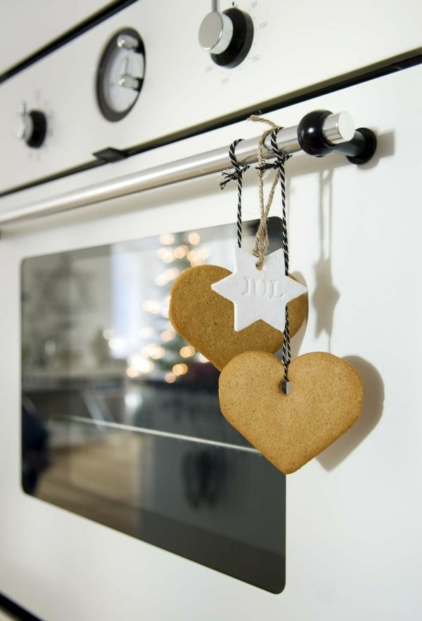 Christmas decoration gingerbread for the kitchen