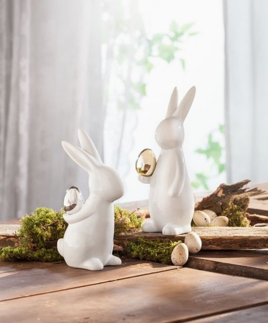 Beautiful table decoration Easter