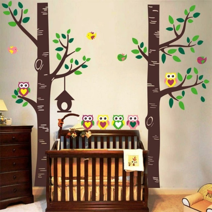 beautiful wall decals trees deco children's room