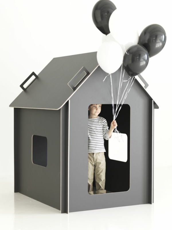playhouse made of cardboard nursery decor