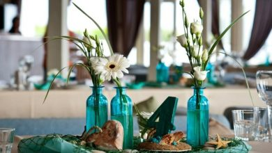 Photo of Table top ideas for a summer party with sea breeze