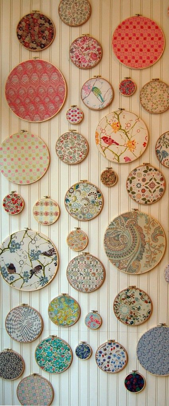 wall ideas wall decoration string art wall design broderie embroidery work babble