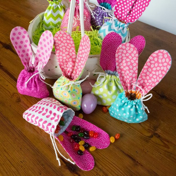 easter crafting ideas hare small easter bunnies