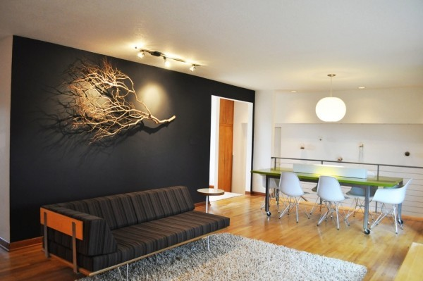 Wall colors ideas in black