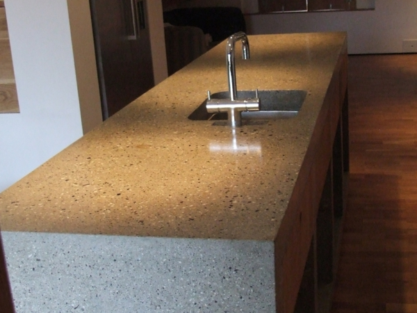 worktop concrete look ideas for the kitchen