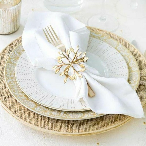 napkin folding technique luxury idea