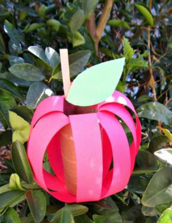 DIY ideas - deco ideas - tinker with children's apple