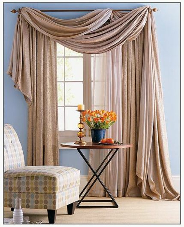 interestingly hung curtains