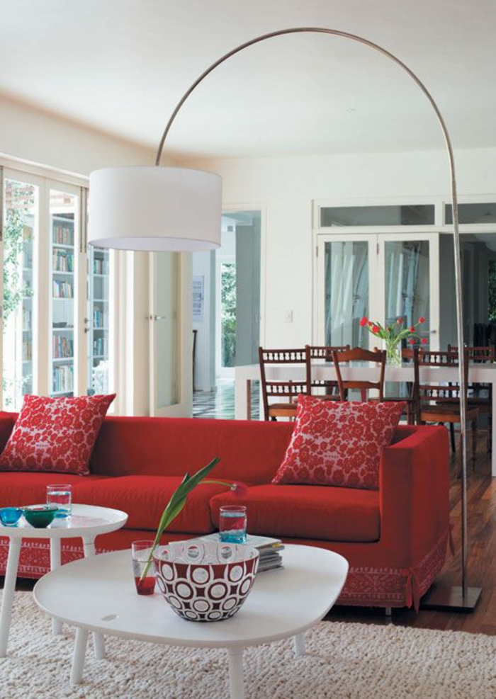 the red sofa furnishing tips red sofa