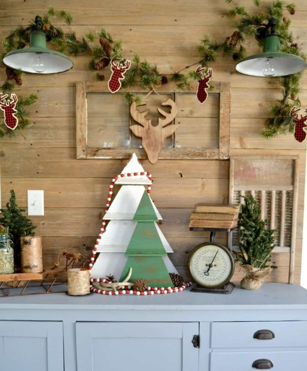 Christmas tree and other elements DIY decoration