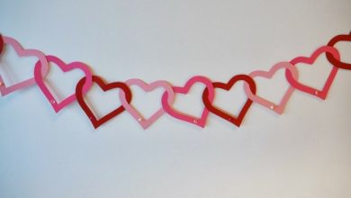 Photo of Happy Valentine's Day – 30 wall designs with hearts or as you confess your love on the wall