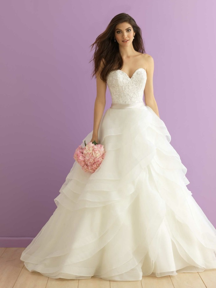 Lush wedding dress