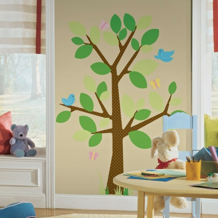 wall decals tree nursery