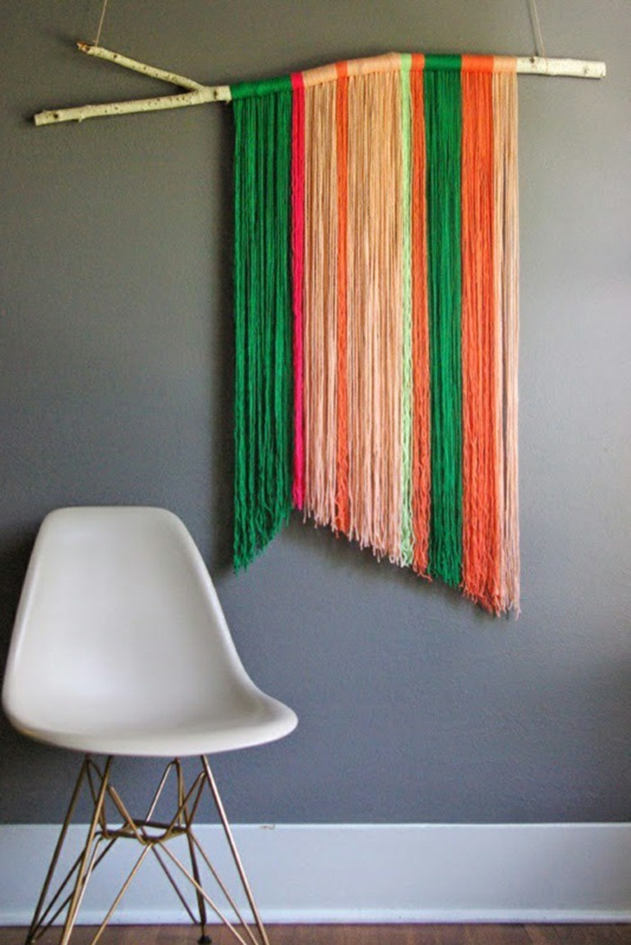 Make creative craft wall decorations yourself