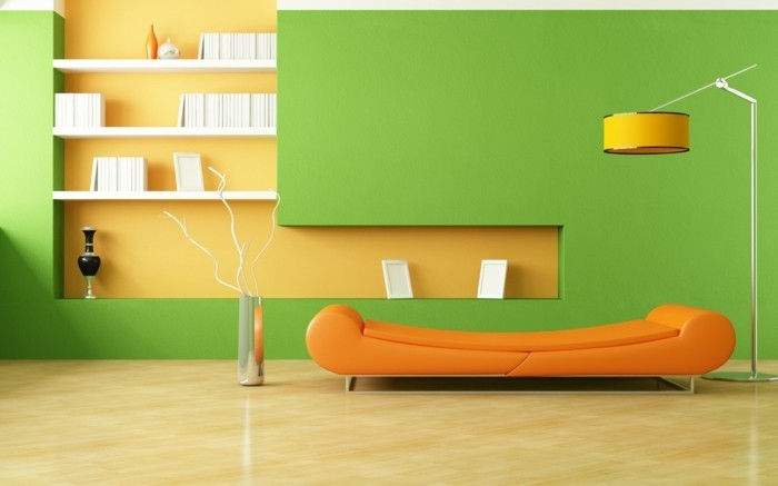 Residential Colors Wall Colors Trends Interior Design Color Green Living Room