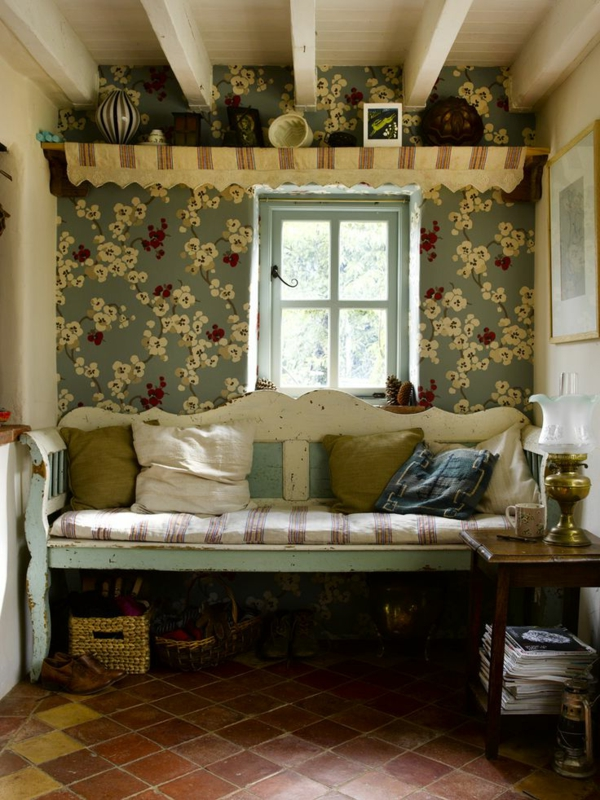 wallpaper pattern recreation area country style