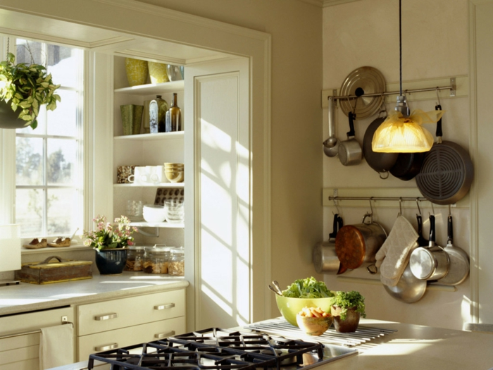 home decor kitchen small kitchen set up hanging lamp wall shelves