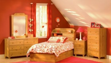 Photo of Cool kids room roof pitch – creating a private space