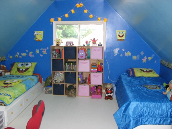 cartoon characters for the kids room