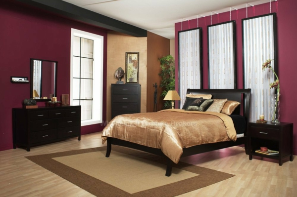 bedroom color combinations for wall colors