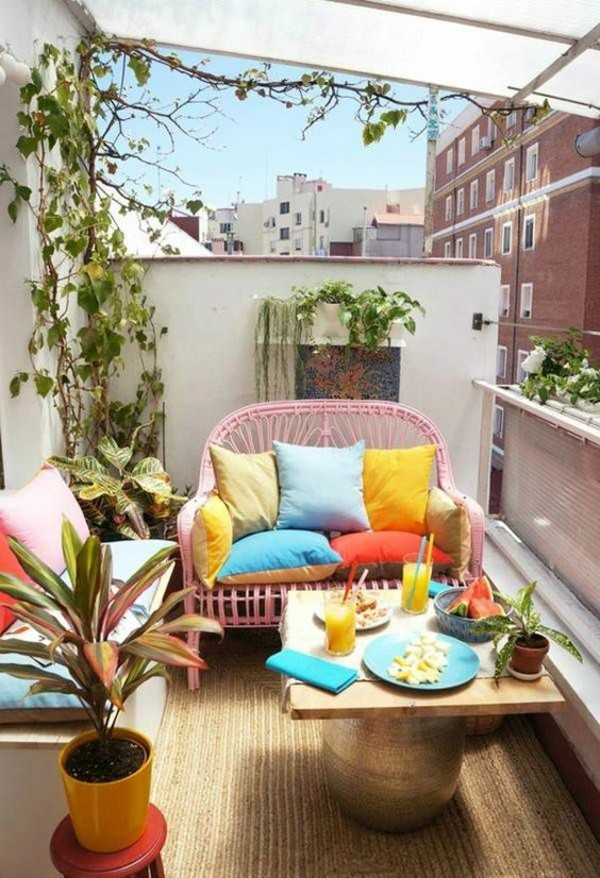 Small terrace decorating balcony furniture for small balcony