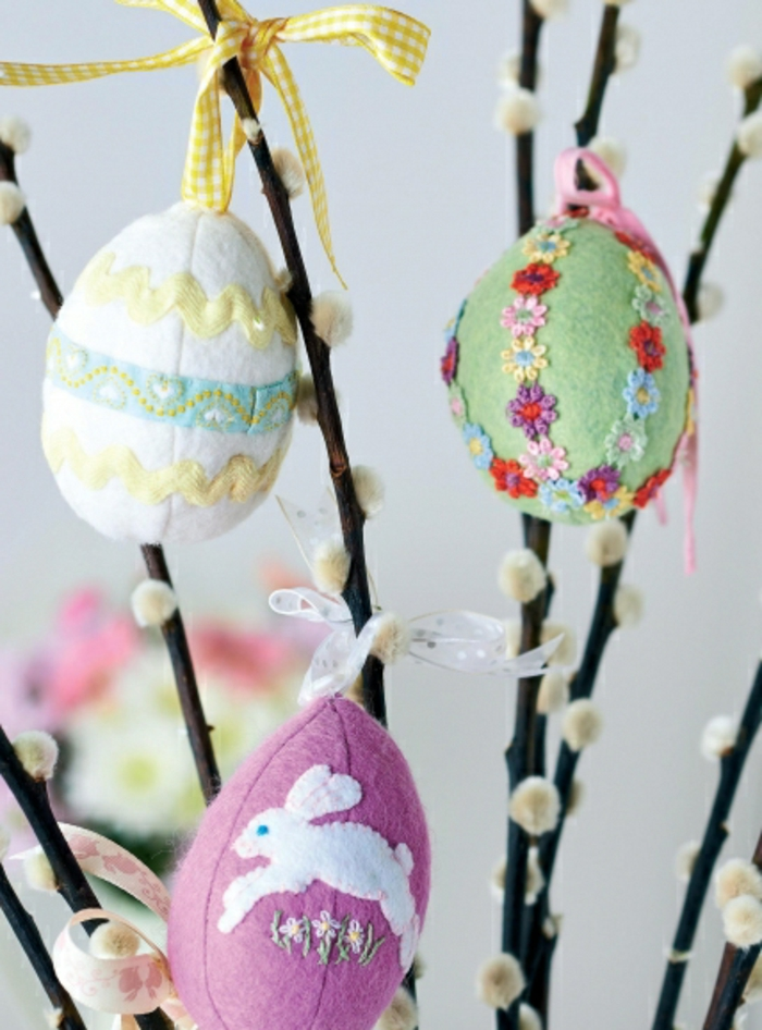 easter decoration decorate easter eggs decorate branches
