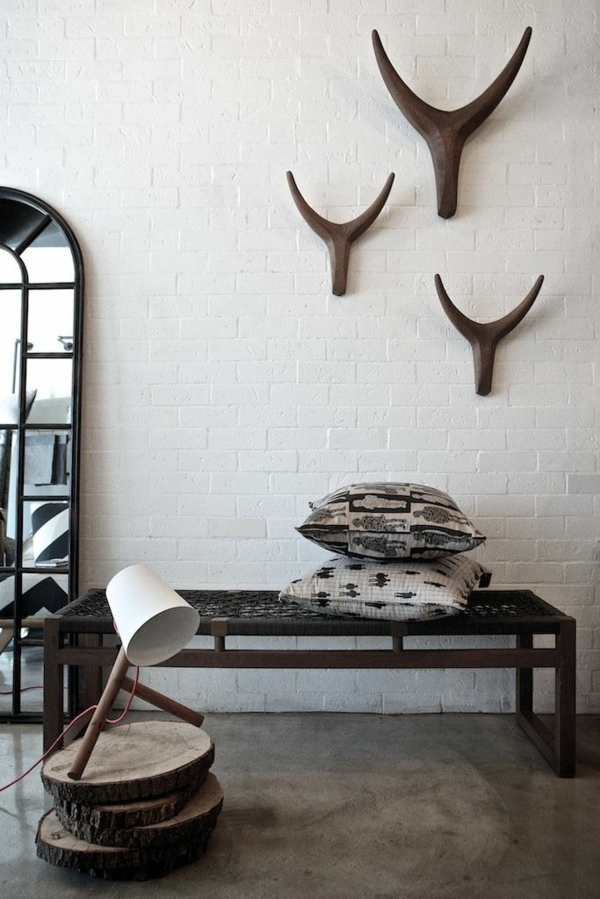 africa decoration wall decoration ideas of wood brick wall