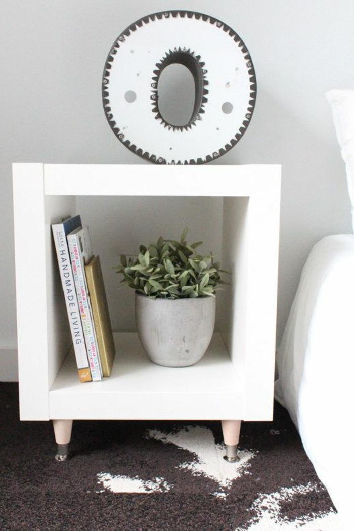 beautiful houseplants easy to decorate bedroom ideas bedside table