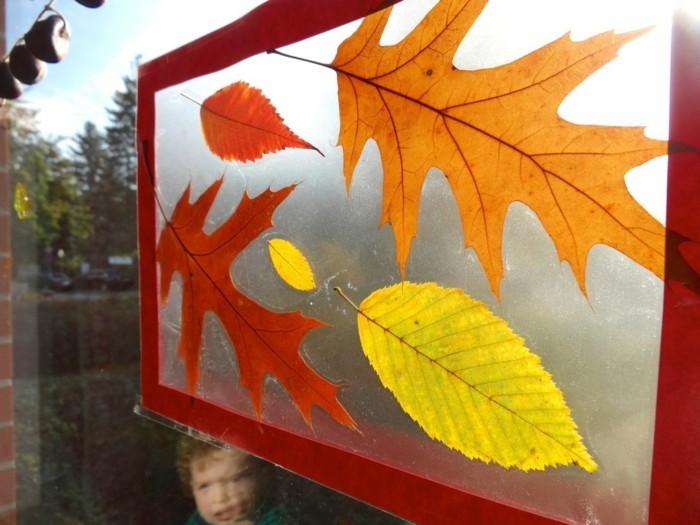 Make window pictures with children's children's room