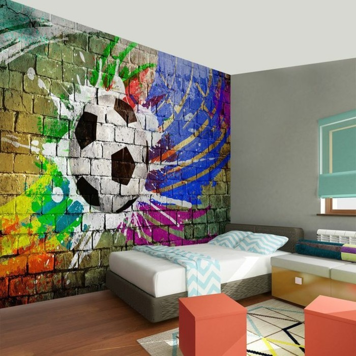 Nursery Decor Football Design Interior Ideas Wall Decoration