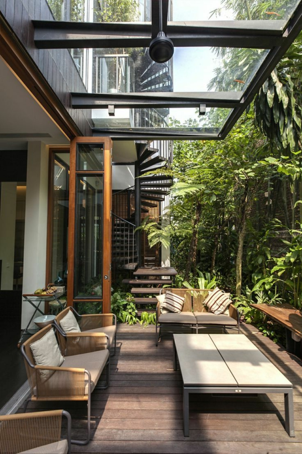 Glass Roof Terraces As A Hit In The Modern Lifestyle
