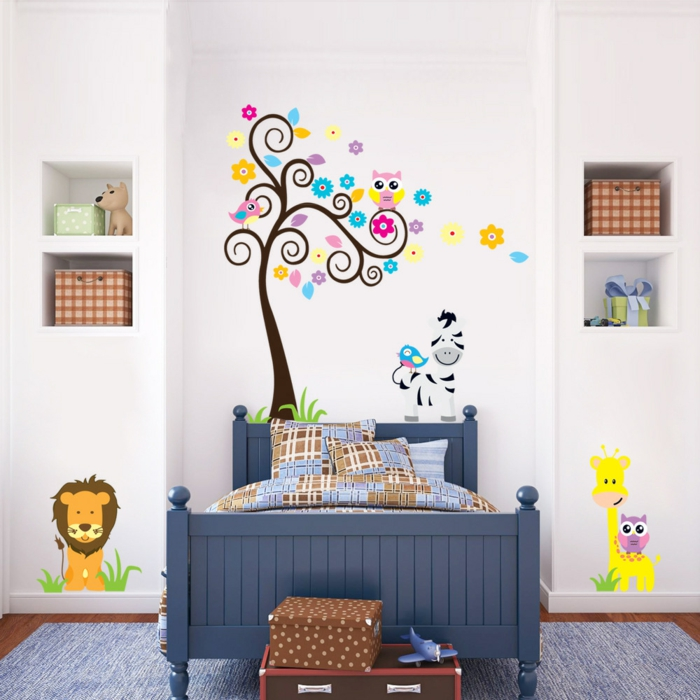 wall decal nursery aliexpress childrens carpet white walls