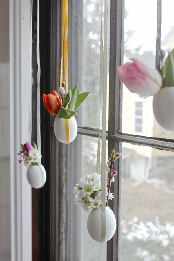 beautiful deco ideas diy eggshells spring flowers