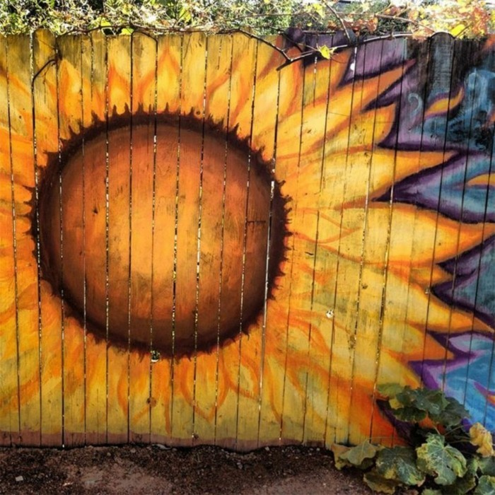 decoration ideas for garden fence beautiful drawings