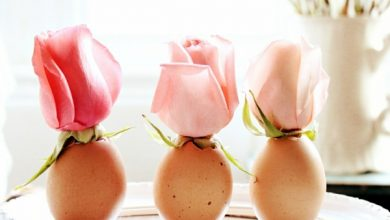 Photo of Table decoration Easter – 30 craft ideas for a happy festive mood!